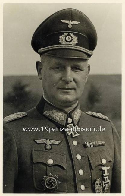 19. Panzer Division, mainframe units